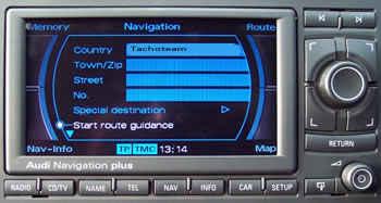Navireparatur als Tachoreparatur Audi A5