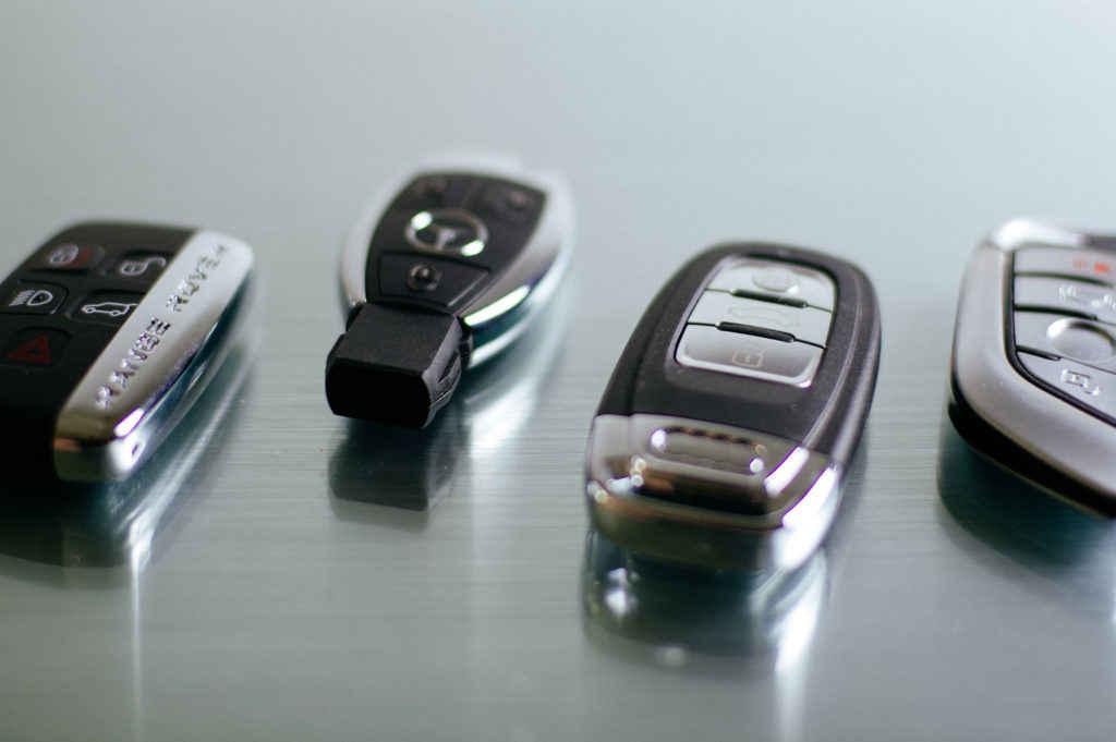 Verschiedene Autoschlüssel
